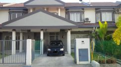 2sty Terrace House Taman Langat Utama Banting Near Main Road