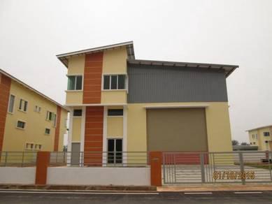 Asas Jaya light industry bungalow corner