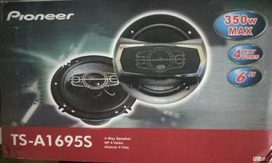 6 Inch 4 way speaker