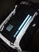LED Taichi Waterproof Sport Motor Backpack with