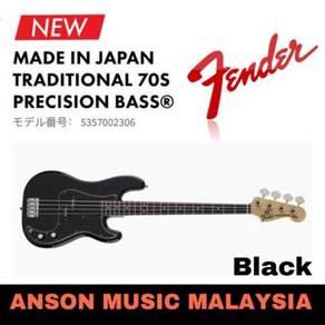 Fender Traditional '70s Precision Bass, Black
