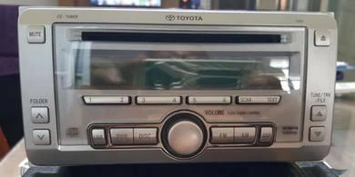 Toyota wish 2.0 audio player