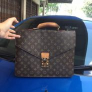 Lv Documents Vintage Monogram
