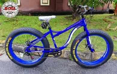 Fatbike MONGOOSE Blue 7speed Shimano Fat bike