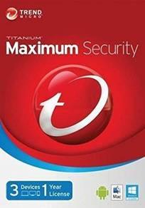 Antivirus Trend Micro Maximum Security 2018