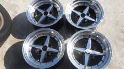 Rim 2nd WORK 15 4x100 Dpn 8jj Blkg 9jj Like New