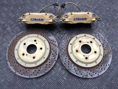 Greddy 4pot brake kit slotted disc