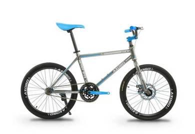 Kids Basikal Bicycle 7-10Years Fixie 20