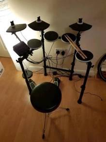 Alesis DMlite electronic drum kit with drum stool
