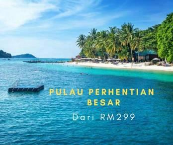 Pakej : 3H 2M Pulau Perhentian, Terengganu