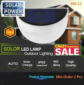 Solar Light Waterproof 6 LEDs Solar Lamp Garden