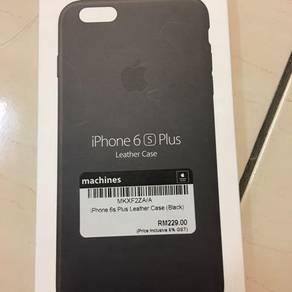 Iphone 6 plus/6s plus Leather Case Ori (Black)