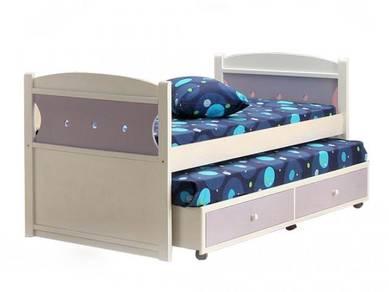 Katil kayu bed bedframe divan base perabot 413