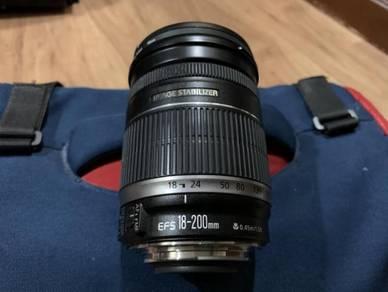 Original Canon Lens EFS 18-200mm