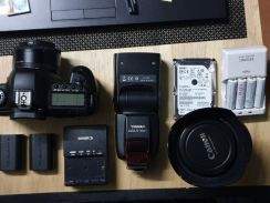 Canon 5dm2 pakej