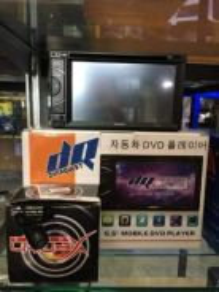Dvd player kereta/hilux dan lain2