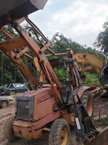 Backhoe loader Case 580K 1992