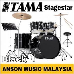Tama Stagestar Drum Set w/Stagestar Cymbal Set,BK
