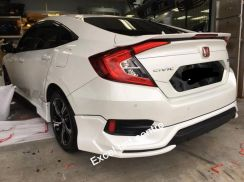 Honda Civic Fc Rs Spoiler With Led Brek Light