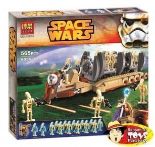 Star Wars - Battle Droids Shipped Warship 1