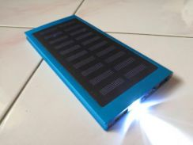 2000Mah Super Slim Solar Power Powerbank