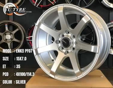 New 15 inch Enkei pf07 sport rim