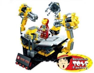 IRON Man with R&D Hub (Mini Blocks/ Bricks)
