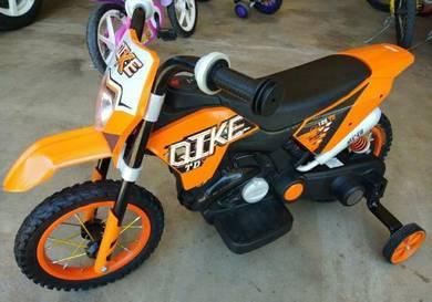 Moto bateri charge kanak-kanak