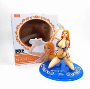One piece Drink water POP BB Nami Anime Action Fig