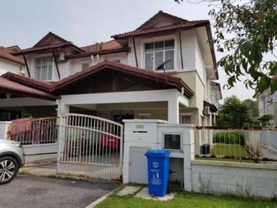 Double storey semi detached villa suria sunway alam suria shah alam