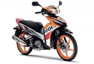 Raya murah jual 2019 new honda dash 125 repsol