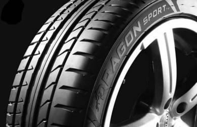 Tayar 20 inci/inch 245 35 20 Pirelli Dragon Sport