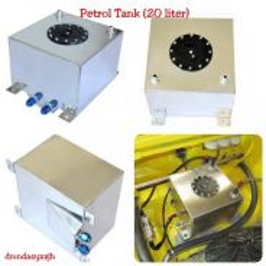 Aluminium Fuel Surge Petrol Tank 20 liter 20L