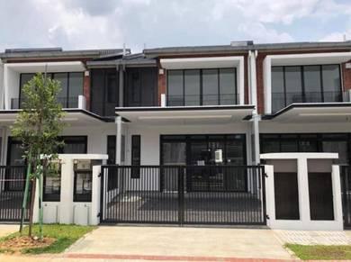 Rumah Mampu Milik 24x85 FreeHold 2-Story House, Shah Alam