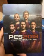 Pes 2018 limited edition steel case