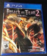 NEW AND SEALED PS4 Game Attack on Titan 2 / AOT 2