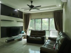 Puchong townhouse corner fully furnished