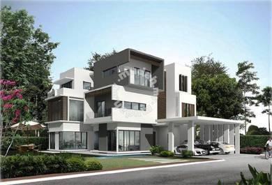 York Residence, 3 Storey Luxury Bungalow 6652SF