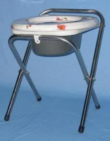 Foldable Chair Toilet seat stool kerusi tandas aid
