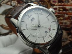 229) oris artelier small second pointer day auto