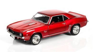 1969 Chevrolet Camaro SS (Shiny Metallic) diecast
