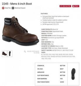 2245 - Mens 6-inch Boot - RED WING (Original)