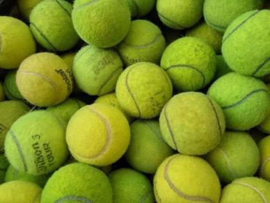 Used tennis ball