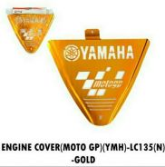 Yamaha 135 lc engine cover gold