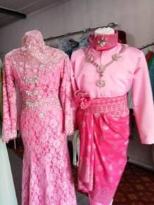 Baju Sanding pink