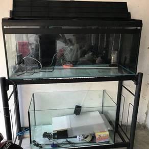 Fish tank for set big and mall