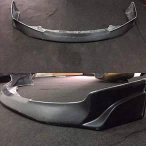 Honda civic FD JS Racing front lip