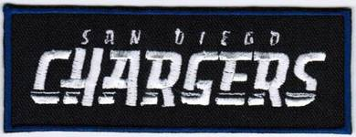 NFL San Diego Chargers TL National Football Patch