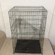 2 Level Cat Cage 230 (Hammeton) Wrought Iron A&K
