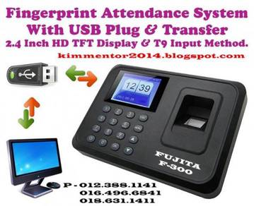 Fingerprint Time Attendance System with USB Plug